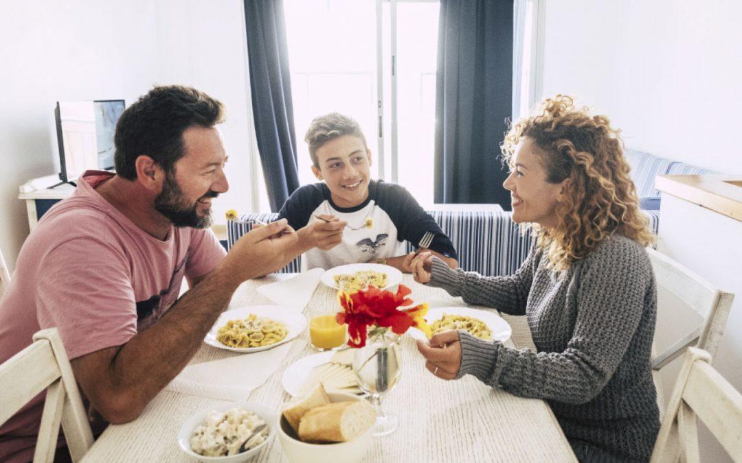 El momento de la familia